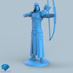Download 3D print files Human Ranger unit 3#, BLUEWYVERN