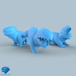 Visual_Garuda_01.png Download STL file Garuda - The BlueWyvern mascot pack • 3D print object, BLUEWYVERN