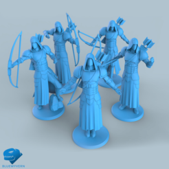 Download 3D printer files Human Ranger unit Collection, BLUEWYVERN
