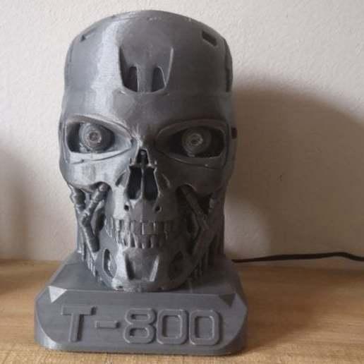 IMG_20190308_141905.jpg Télécharger fichier STL gratuit Eyes for T-800 with Led • Design à imprimer en 3D, egalistel