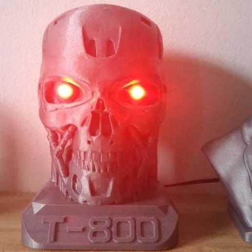 IMG_20190308_141600.jpg Télécharger fichier STL gratuit Eyes for T-800 with Led • Design à imprimer en 3D, egalistel