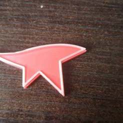 Download free 3D printing templates Mirror Edge Magnet, egalistel