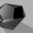 Download free STL file Polygonal flower pot • 3D printing design, egalistel