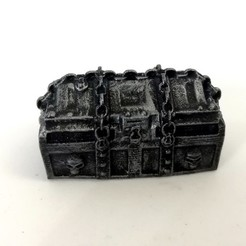 Download free 3D printer designs Treasure Chests, MysticPigeonGaming