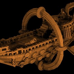 Download 3D printing models Elemental skyship, MysticPigeonGaming