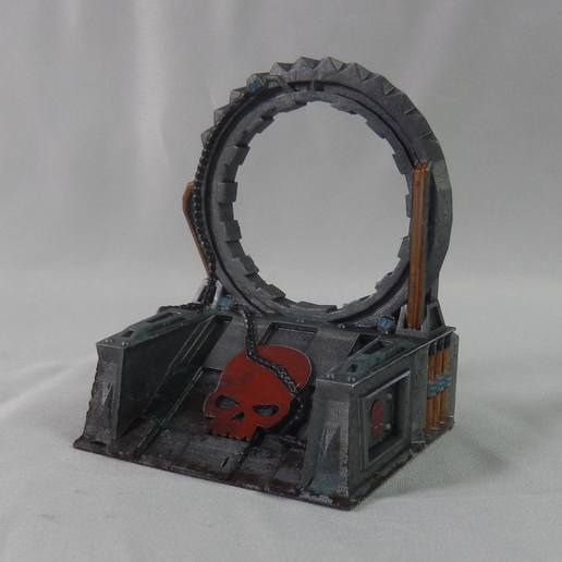 Download 3D print files Star Gate / Warp Gate (Sci Fi tabletop terrain), MysticPigeonGaming