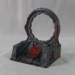 Télécharger fichier 3D Star Gate / Warp Gate (terrain de table Sci Fi), MysticPigeonGaming