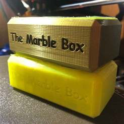 Download free 3D printer files The Marble Box (centralpetal force puzzle), ldimond34