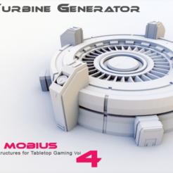 large_circular_generator_ps.png Download STL file Large Turbine Generator • Object to 3D print, projectmobius