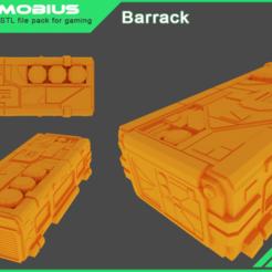barrack.png Télécharger fichier STL Baraque • Modèle pour imprimante 3D, yoyoboy1998