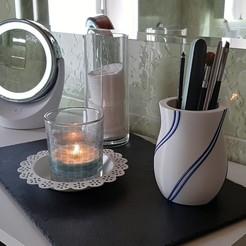 Télécharger objet 3D Vase à filaments, BiermannImpression3D