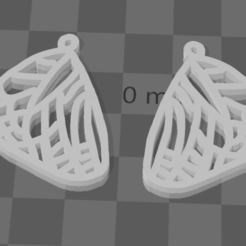 Screenshot 2020-09-14 105832[207].png Download free STL file Chrysalis Earring • 3D print template, ayushvarma08