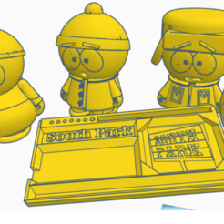 complete.png Download STL file GRINDER + TRAY ROLLING  (SOUTH PARK) COLLECTION!!!! • 3D printer template, tomassuarezporta55