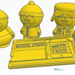 complete.png Télécharger fichier STL gratuit BROYEUR + PLATEAU ROULANT (SOUTH PARK) COLLECTION !!!! • Design imprimable en 3D, tomassuarezporta55