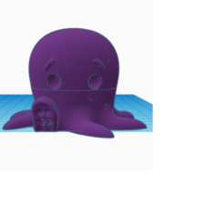OCTO.png Download free STL file GRINDER OCTOPUS CUTE • Design to 3D print, tomassuarezporta55
