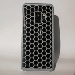 IMG_20200923_122424_149.jpg Download STL file Samsung Galaxy S9 case hexagonal • Object to 3D print, laurensvousten