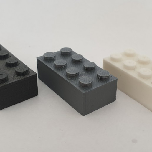 Download free STL file LEGO brick • 3D print template, laurensvousten