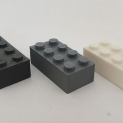 20200916_083741.jpg Download free STL file LEGO brick • 3D print template, laurensvousten