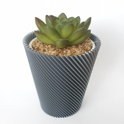Download STL file Multifunctional cup: plant pot, tool holder, lamp, ordinary cup in one • 3D print design, laurensvousten