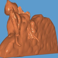 Screenshot_20200823-220802_Fast STL Viewer.jpg Download STL file Cat memorial stone for your lost family member • 3D print design, digitalisera1981