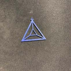 IMG_0699.jpg Download free STL file Triangular Earring • 3D printable template, INFX_TryHard