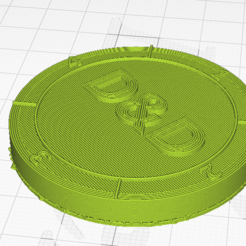 cura dnd coin.PNG Download free STL file D&D dice coin • 3D printable design, DiscountTacocat
