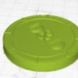 Download free STL file D&D dice coin • 3D printable design, DiscountTacocat