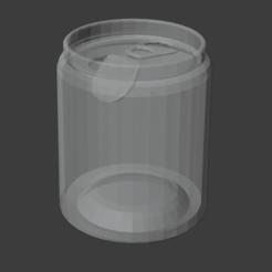 SODACAN.png Télécharger fichier STL gratuit Simple canette de soda • Objet imprimable en 3D, waveblender