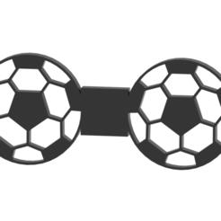 bowtie.png Download STL file FOOTBALL/SOCCER BOW TIE • 3D printer template, TarkSteve