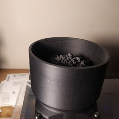 IMG_20200829_025857.jpg Download free STL file Carbon Filter Basket (for ABS, ASA printing fumes) 3d printer extraction • 3D printable model, havoktheorem