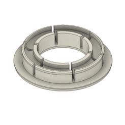 Fusion360_gldFbAVIP7.png Télécharger fichier STL gratuit Adaptateur de bobine de filament / entretoise - 37mm ID, 58mm OD • Modèle pour imprimante 3D, HavokTheorem