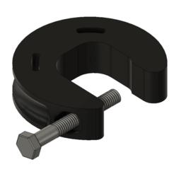 Fusion360_U96IK14Dt0.png Télécharger fichier STL gratuit Ain't Nothin' But A G Clamp, Baby (prototype de gorge de 34 mm) • Modèle imprimable en 3D, HavokTheorem
