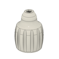 Fusion360_mvEbYmEwsE.png Download free STL file Stubby Screw Driver Handle • 3D printable template, HavokTheorem