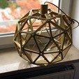 Télécharger fichier STL Abat-jour de la sphère géodésique • Modèle pour imprimante 3D, 3DPrintProjectAthens