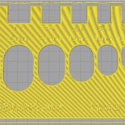 1111.jpg Download STL file DOUBLE ZERO SPIRAL RULER 2:1 • 3D printer model, yeloshans