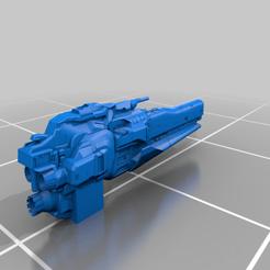 UNSC_ANLACE_Scale_PEG.png Télécharger fichier STL gratuit Batailles de la flotte Halo - Classe Anlace • Design pour imprimante 3D, akatsukilover