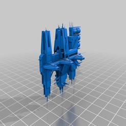 Anchor_9_Scale.png Télécharger fichier STL gratuit Batailles de la flotte Halo - Station de radoub • Objet imprimable en 3D, akatsukilover