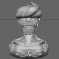 Download free 3D model Murdoc Bust, thomasactis