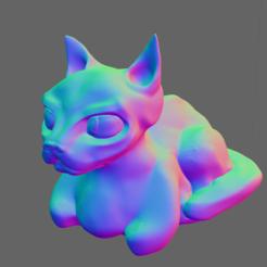 Descargar modelos 3D Cat, thomasactis