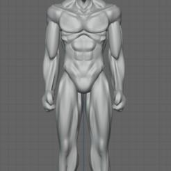 Télécharger fichier STL gratuit BlackMan corps entier • Design à imprimer en 3D, thomasactis