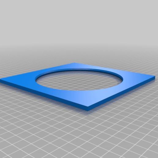 Download free SCAD file Room Air Conditioner Exhaust Tube Adapter Flange • 3D printer template, terraprint