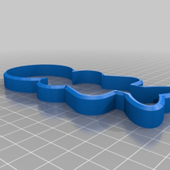 Download free 3D printing files Person Silhouette Cookie Cutter, terraprint