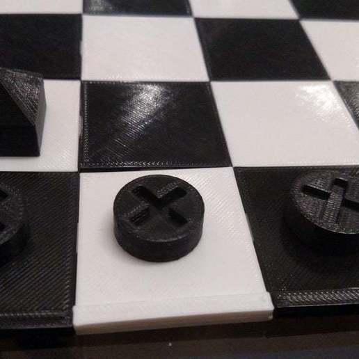 IMG_20181120_180531553.jpg Download free SCAD file Ludus Latrunculorum Board Game Set • Model to 3D print, terraprint