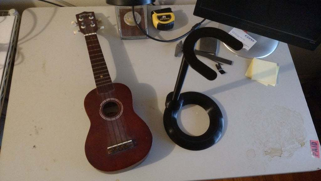 IMG_20180127_203427911.jpg Download free STL file Ukulele Stand • 3D print design, terraprint
