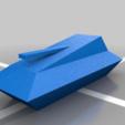 Download free 3D printer designs Atari BattleZone Low Poly Tank, terraprint