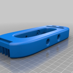 Download free 3D printing models Travelele Body with Bigger Pickup Line Out Hole, terraprint