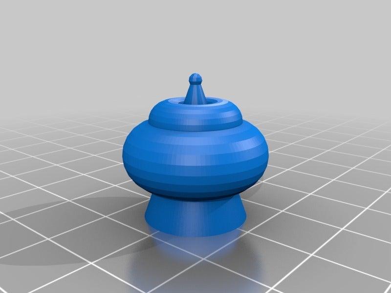 9cec11ee4b58a886b4371eb13e5cee49.png Download free STL file Makruk Thai Chess Set • 3D printing design, terraprint