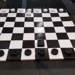 IMG_20181120_180526483.jpg Download free SCAD file Ludus Latrunculorum Board Game Set • Model to 3D print, terraprint