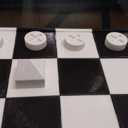 IMG_20181120_180535681.jpg Download free SCAD file Ludus Latrunculorum Board Game Set • Model to 3D print, terraprint