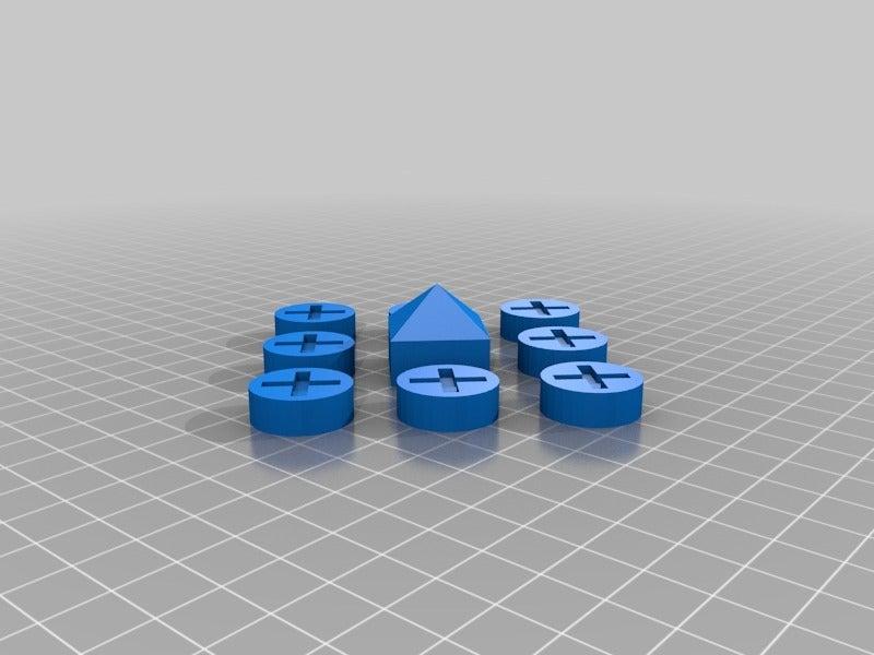 387ce12dcafa61c1af9f969f812fa0e1.png Download free SCAD file Ludus Latrunculorum Board Game Set • Model to 3D print, terraprint